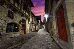Vitré street morning ... (Ludovic Lagadec) Tags: vitré bretagne illeetvilaine breizh brittany street road oldcity cityscape city morning longexposure ludoviclagadec longueexposition colors ville house maison old rue france french historique moyenage medieval histoire
