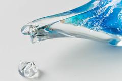 Macro Mondays: Imperfection (NVOXVII) Tags: macromondays hmm macro imperfection wabisabi impermanence ornament glass nikon closeup crack split colour stilllife sharp arty