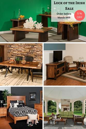 Online Amish Furniture: Solid Wood Furniture & American Made Furniture