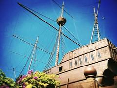 Maritime Museum Jalan Merdeka, Bandar Hilir, 75000 Melaka 06-282 6526 https://goo.gl/maps/sGZxoSLdPcy #travel #holiday #Asian #Malaysia #melaka #holidayMalaysia #travelMalaysia #旅行 #度假 #亚洲 #马来西亚 #马来西亚度假 #马来西亚旅行 #Malacca #boat #船 #sky #trip #traveling