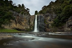 Hunua Falls (jcooperbowers) Tags: new zealand hunua landscape canon digital waterfall long exposure auckland water color
