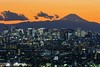 Tokyo Skyline (mon_masa) Tags: skyline tokyo mountfuji mtfuji silhouette dusk twilight city cityview cityscape architecture magichour landscape building