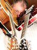 Selfie with guitars 06 (Andy Sut) Tags: selfie andysutton guitars crafter ibanez portrait studio