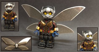 Custom Lego Wasp (Ant-Man and the Wasp)