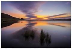 Embsay reservoir (.Wadders) Tags: embsay embsayreservoir yorkshire yorkshiredales d600 ngc nikonfxshowcase nikkor1635mmf4 sunrise sky reflection water