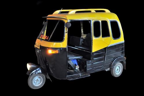 India - Goa - Palolem - Streetlife - Auto Rickshaw - 231d