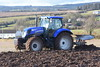 New Holland T7.200 Tractor with a Kverneland 4 Furrow Plough (Shane Casey CK25) Tags: new holland t7200 tractor kverneland 4 furrow plough t7 200 cnh nh blue casenewholland newholland traktor trekker traktori tracteur trator ciągnik ploughing turn sod turnsod turningsod turning sow sowing set setting tillage till tilling plant planting crop crops cereal cereals county cork ireland irish farm farmer farming agri agriculture contractor field ground soil dirt earth dust work working horse power horsepower hp pull pulling machine machinery nikon d7200