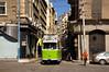 Nur wenige Kurse bedienen noch die große Schleife durch die Innenstadt, wie hier Düwag-Wagen 810 am frühen Vormittag (Frederik Buchleitner) Tags: 810 alexandria duewag düwag gt6 ks kopenhagen københavnssporveje linie4 misr sechsachser sporveje strasenbahn streetcar tram trambahn aliskandariyya ägypten الإسكندرية مصر