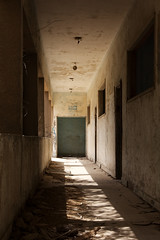 Old Passage (iNezar) Tags: ifttt 500px step abandoned wall door hallway concrete decay derelict eerie brick passage staircase old school dark light yallow saihat ksa