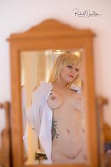 Model - Jackie (MonoFoto UK) Tags: model nsfw photoshoot nude 50s boudoir mirror reflection