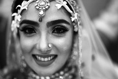 The Bride In Law (N A Y E E M) Tags: tusin bride wedding sisterinlaw portrait availablelight indoors hall24 communitycenter chittagong bangladesh gayeholud
