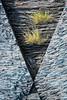 Vue littorale, triangles (Aurelien Pottier) Tags: triangle roche rock geologie geology schiste herbe grass nature naturel natural îleauxlièvres mrcdekamouraska bassaintlaurent québec canada amériquedunord abstrait abstract bassaintlaurentquébec ca