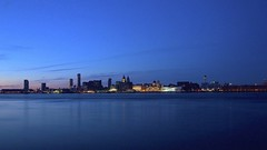 Liverpool Waterfront (TERRY KEARNEY) Tags: liverpoolwaterfront liverpool waterfront waterway watercourse water rivermersey blue bluehour harbor skyline sky architecture buildingsarchitecture neoclassicalarchitecture landscape albertdock buildings canoneos1dmarkiv daylight day explore europe england flickr kearney skies merseyside oneterry outdoor people terrykearney urban 2018 city sea building
