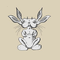 M_rabbit (baobab1982) Tags: creature monster character sketchbook sketch