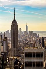 New York City (painda1988) Tags: nyc newyork manhattan buildings oneworldtrade empirestatebuilding bigapple