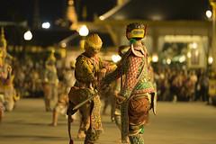 Ramakien (tarikabdelmonem) Tags: bangkok bkk thailand travel travelphotography sony sonya7ii sonyalpha ramakien khon drama theater theatre royal crematorium