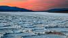 Badwater Sunset (Kirk Lougheed) Tags: badwaterbasin blackmountains california deathvalley deathvalleynationalpark panamintmountains usa unitedstates landscape mountain nationalpark outdoor park saltflat saltpan sunset