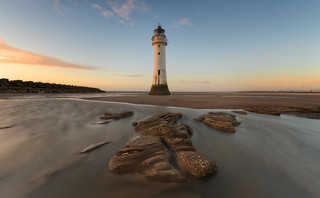 Mersey sunset