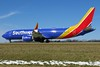 N8913M Southwest 737-8MAX at KCLE (GeorgeM757) Tags: n8913m 7378max southwest 737 aircraft alltypesoftransport aviation airport boeing kcle georgem757 canon70d