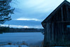 Trying to capture the blue hour with my Nikon D3100 (Jaggystang94) Tags: blue hour landscape nikon d3100 evening nature winter dx snow ice lakes lake