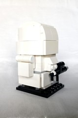 Imperial Snowtrooper (instructions coming soon) (tomvanhaelen) Tags: lego star wars custom brickheadz moc imperial snowtrooper empire