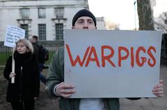 """War Pigs"" - British politicians and business elite who support or profit from the Saudi bombing of Yemen. (alisdare1) Tags: mohammadbinsalman binsalman mbs saudiarabia armsexports theresamay downingstreet london protest demo demonstration rally warcrimes yemenwar handsoffyemen armssales saudiwar butcherofyemen saudiprince uk ksa saudi dictatorship whitehall stoparmingsaudiarabia humanrights humanitariancrisis yemenfamine saudibombing bombingofyemen crownprince fujifilm fuji fujifilmxpro2 notwelcome no10 primeminister unitedkingdom creativecommons"