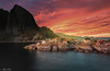 why lofoten? Hamnøy, the spirit of Norway on a small island. (AlbertMu7) Tags: norway lofoten island paisaje paysage seascape ocean north land alberto muñoz mar sunset mountain visit colour