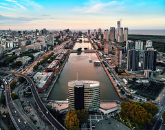 Puerto Madero, Buenos Aires (deensel) Tags: buenos aires cityscape drone dji mavic mavicpro aerial aerialphotography skyscraper skyscrapers argentina microcenter puerto madero quadcopter