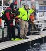 He's back (chemsuiter) Tags: icedivetraining escanaba diverescueteam marina dock diver ffm usiadrysuit