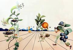 IMG_9800 Salvador Dali 1939-1989  No title. (Series Flora Dalinae) 1983  Prague.  Galerie d'Art. Art Gallery. (jean louis mazieres) Tags: peintres peintures painting musée museum museo prague tchéquie czechrepublic salvadordali