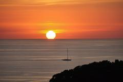Port de Soller am Abend (Judith Noack) Tags: mallorca soller sonnenuntergang meer segelboot balearen sonne boot