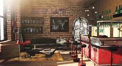 Sleep late (Alexa Maravilla/Spunknbrains) Tags: zerkalo 22769 fameshed void whimsical commoner secondlife sl furniture bar indoors