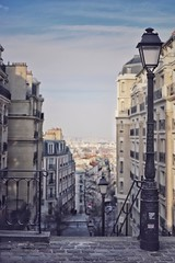 From Montmartre, Paris. (BadGunman) Tags: urban fullframe streetphotography street 50mmf18 eos6dmark✌️ eos6dmarkii canon france paris stairs build montmartre