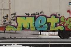 Met (Psychedelic Wardad) Tags: freight graffiti ta cbs mc mayhem met