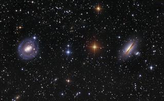 NGC5101 and 5078 | LRGB