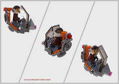 District 18 civilian hoverbike 'Cheep Cheep' (Brixnspace) Tags: lego moc speeder hoverbike district18 district 18 civilian