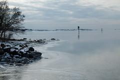 Skärgårdsvy (evisdotter) Tags: skärgårdsvy archipelago winter snow ice reflection nature sooc light fyr lighthouse strand rocks järsö åland landscape