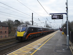 180105 arrives at Northallerton (7/3/18) (*ECMLexpress*) Tags: grand central class 180 adelante dmu 180105 northallerton ecml