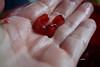 MY FAVORITE FRUIT (Fimeli) Tags: nature fruits frucht favorit red kerne rot gesund cores healthy macro granatapfel pomegranate