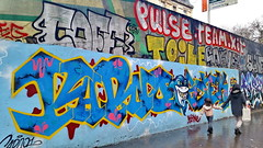 417 Paris en Février 2018 - rue de la Chine (paspog) Tags: paris france février februar february ruedelachine tags graffitis fresque fresques mural murals