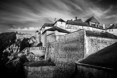 Château de joux, Franche Comté (loroche25) Tags: chateaudejoux franchecomte doubs noirblanc noiretblanc monochrome blackandwhite negroyblanco bw nb château canon canoneos600d