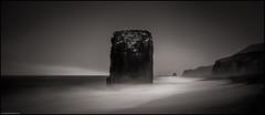 Fauskasandur - Starmýri (niggyl (well behind)) Tags: starmýri austurland djùpavogshreppur fauskasandur iceland icelandiclandscape seascape seascapes sea cloudsstormssunsetssunrises therebeastormabrewin ísland inspiredbyiceland fujifilm fujinon fuji longexposure le nisi10stopndfilter vatnajökull ringroad þjóðvegur1 hringvegur breathtakinglandscapes luminar2018 landscape fujifilmxt2 fujixt2 xt2 fujinonxf2314r fujixf2314r xf2314 iceberg fog rain mist mono monochrome ndfilter nisifilters silverefexpro seastack cliff beach blackbeach blacksandbeach blackandwhitelandscape