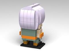 Trunks, Dragon Ball Z BrickHeadz (headzsets) Tags: lego legobrickheadz brickheadz legomoc legomocs moc afol legophotography dragonball dragonballz dragonballsuper dragonballgt saiyan