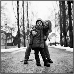 Love & Pride (Koprek) Tags: portrait rolleiflex28f fomapan 100 croatia february 2018 film medium love