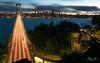 Traffic (Visualvalhalla) Tags: baybridge california clouds sanfrancisco sunset longexposure
