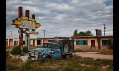Mexican Food (Whitney Lake) Tags: route66 tucumcari newmexico rust decay junktruck restaurant abandoned