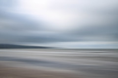 Sea, Ayr II (strachcall) Tags: intentionalcameramovement blur beach scotland sky icm water clouds movement ayr landscape coast incameraeffects sea