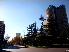 Madrid (Spain) (sky_hlv) Tags: azca madrid españa spain europe europa ciudad city town capital rascacielos skyscraper skyline arquitectura building