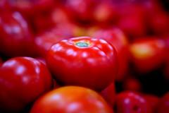 Art  - tomato (Rajavelu1) Tags: macrophotography fruits vegetables tomato red colours depthoffield art creative dslr availablelight handheld artdigital