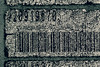 Cracked Code... (RALPHKE) Tags: crackedcode cracked code barcode weathered netherlands imperfection macromondays macro closeup blackwhite